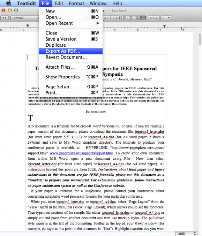 how to change pdf to doc on mac