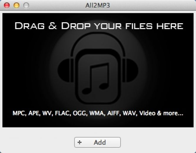 How to Convert FLAC to MP3 on Mac OS X for Free Using All2MP3