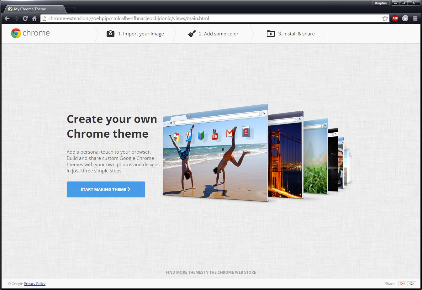 Google themes browser - Google Themes Browser 3