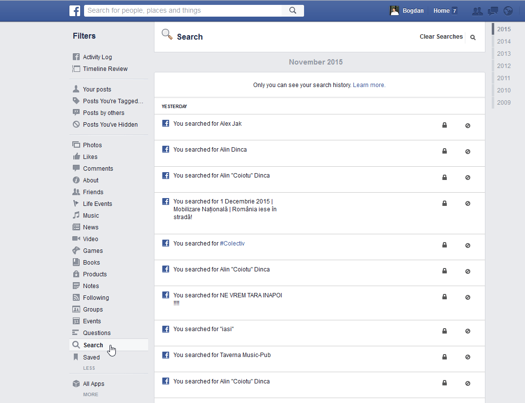 How To View And Erase Your Facebook History