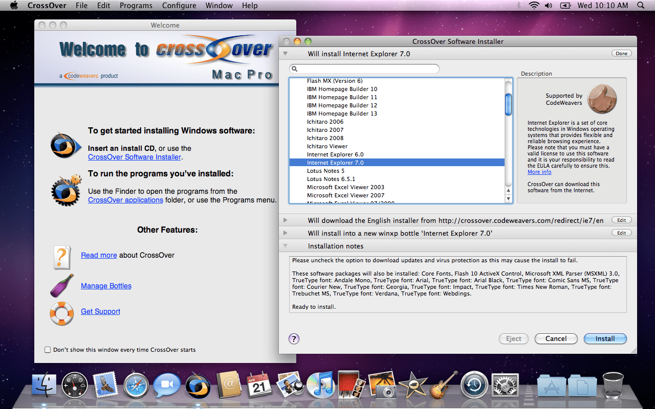 Run Mac Software With Crossover