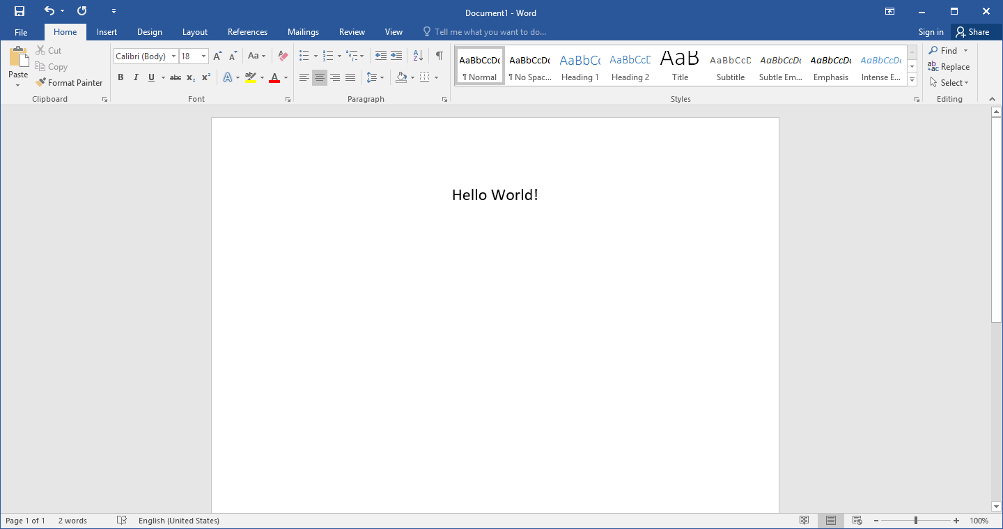 Microsoft Word For Window