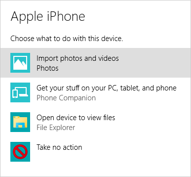 How to transfer photos from iPhone to PC