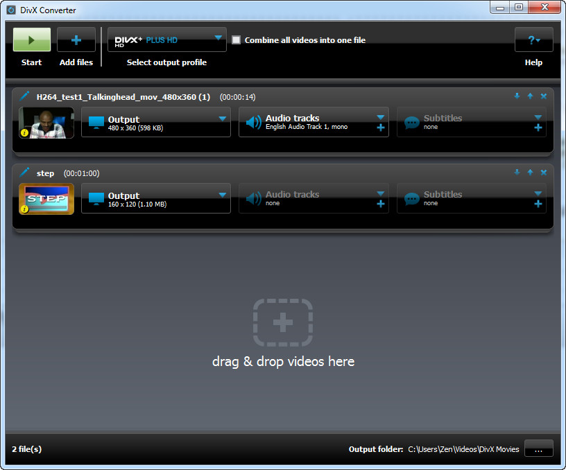 divx video converter: