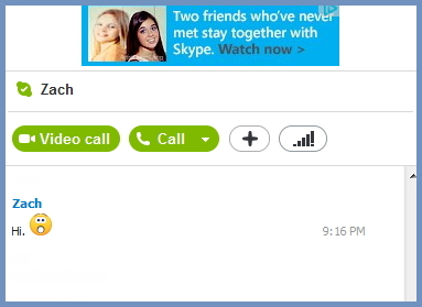 Skype With Ads