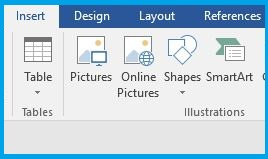Insert Picture Option In Microsoft Word