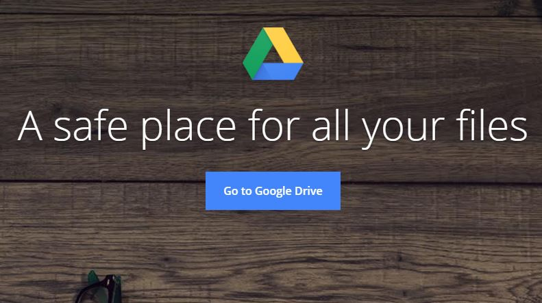 Accessing Google Drive From Web Browser