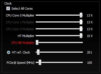 Configuring Clock Settings In AMD OverDrive