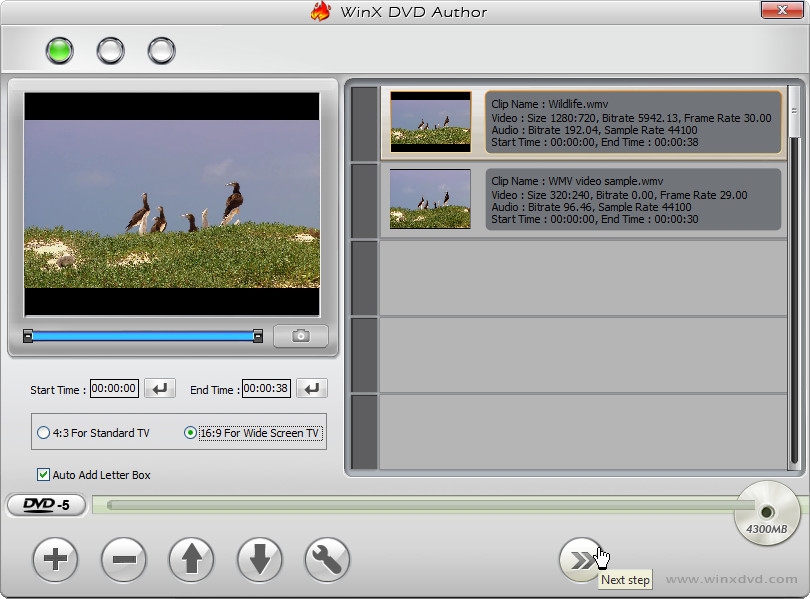 wmv to bup vob ifo converter