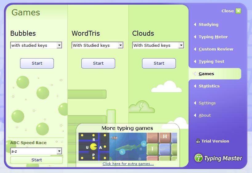Typing Master Games