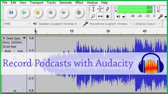 Record Podcast With Audacity