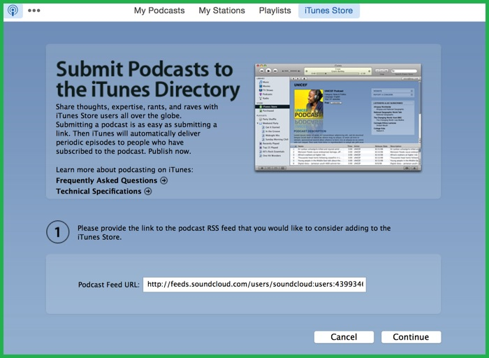 Publish Podcast On iTunes