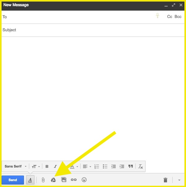 Uploading Google Drive File To Email