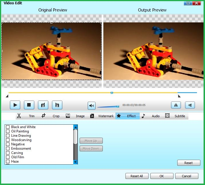 Editing Video In Bigasoft WebM Converter