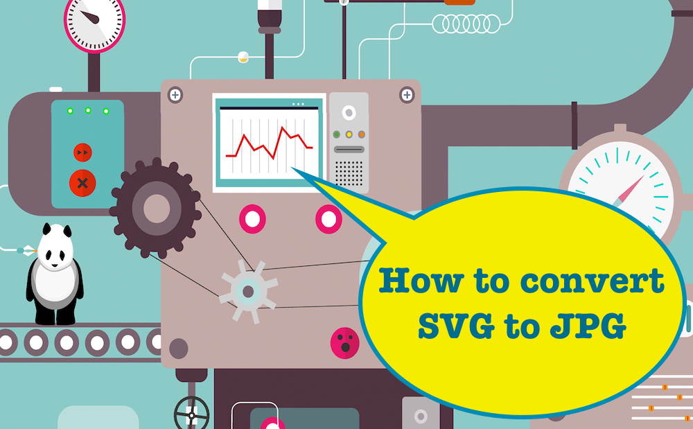 How to convert SVG to JPG