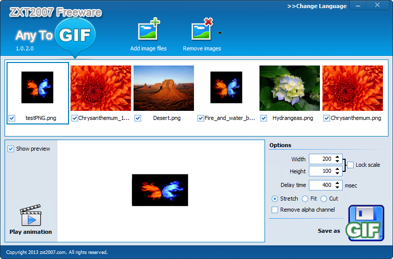How to convert png to animated gif with any to gif negle Choice Image