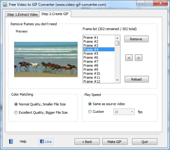How to Convert WMV to GIF Slideshow With Free Video to GIF ...
