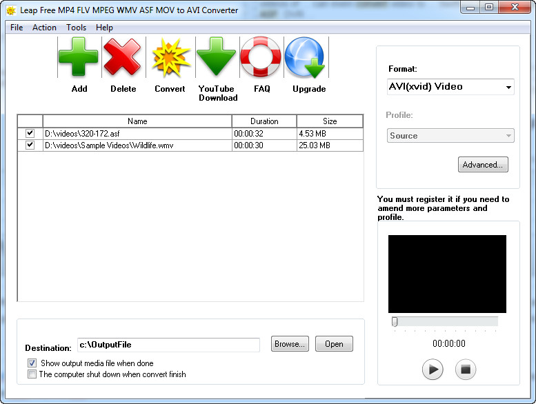 convert mov to wmv free