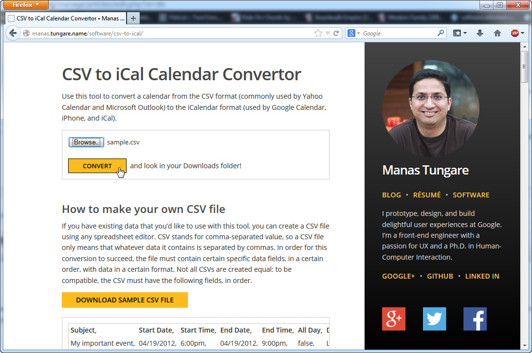 How to Convert Excel to ICS Calendar Files with MS Excel and