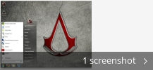 Screenshot collage for Assassins Creed Theme for Seven