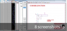 Screenshot collage for Acme CAD Converter