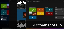 Screenshot collage for Immersive Explorer