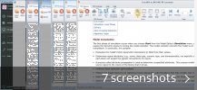 Screenshot collage for Free PDF to JPG PNG TIF Converter