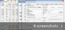 Screenshot collage for Free RAR Password Recovery
