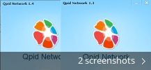 Screenshot collage for Qpid Network