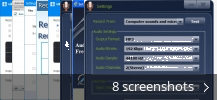 Screenshot collage for GiliSoft Audio Recorder Pro