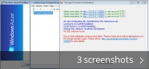 Screenshot collage for Windows Azure Emulator