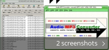 Screenshot collage for Audio MP3 Converter