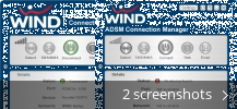 Screenshot collage for WIND Connection Manager