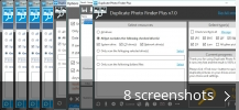 Screenshot collage for Duplicate Photo Finder Plus