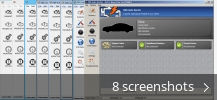 Screenshot collage for OBD Auto Doctor