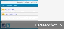 Screenshot collage for Free MP3 Video Converter
