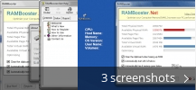 Screenshot collage for RAM Booster