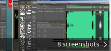 Screenshot collage for Adobe Audition