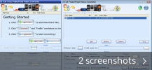 Screenshot collage for E.M. Free PowerPoint Video Converter