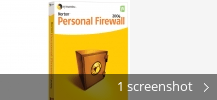 Screenshot collage for Norton Personal Firewall