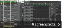 Screenshot collage for MixPad Multitrack Recording Software