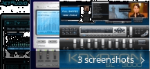 Screenshot collage for Jet Audio Skins