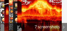 Screenshot collage for Free Fire Screensaver