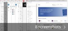 Screenshot collage for Adobe Creative Cloud