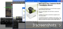Screenshot collage for Camtasia