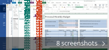 Screenshot collage for Microsoft Office