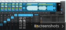 Screenshot collage for MAGIX audio cleaning lab