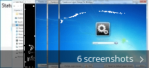 Screenshot collage for Tweaks.com Logon Changer