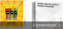 Screenshot collage for Adobe Creative Suite 3 Design Standard