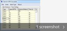 Garmin GPX Converter (free) download Windows version